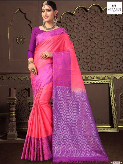 MIB3448652(1349)-Vipanji Traditonal Silk Saree