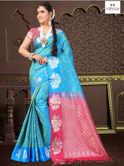 Vipanji Traditional Silk Saree - MIB3448664 (1350)
