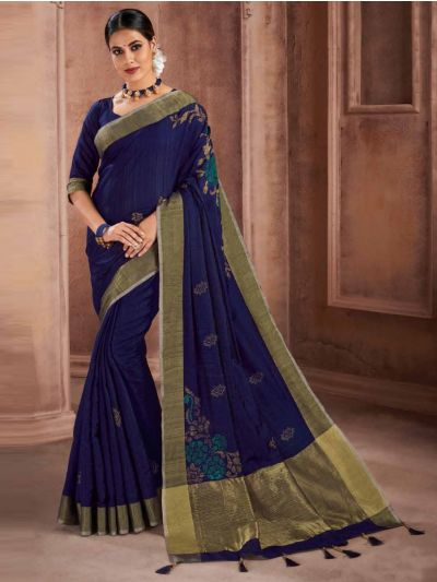 Kathana Fancy Raw Silk Saree