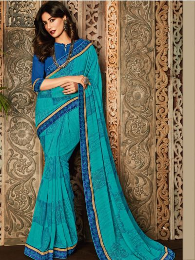 MFB2224863 - Women's Fancy Georgette Saree