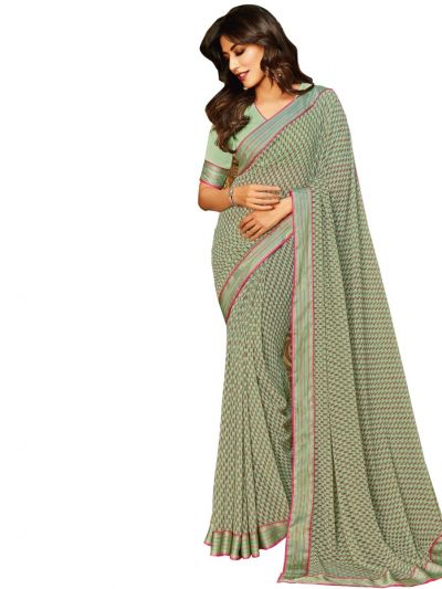 MFB2224864 - Women's Fancy Georgette Saree