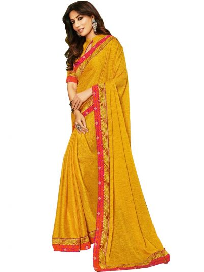 Women's Fancy Georgette Saree - WFS14992