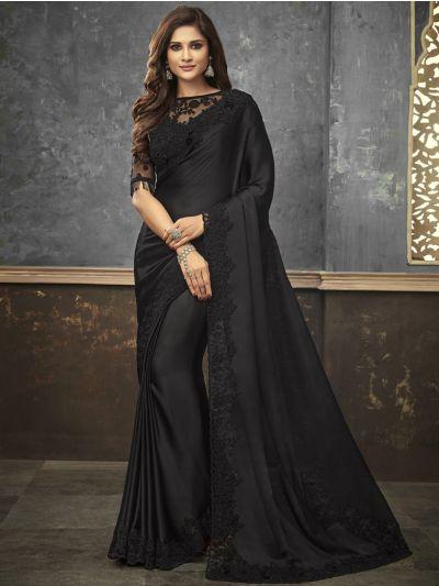 Sahithyam Designer Party Wear Satin Saree-PWS1508