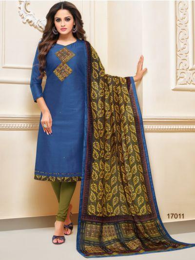 Isabella Women's Cotton Slub Dress Material-WCSDM17011
