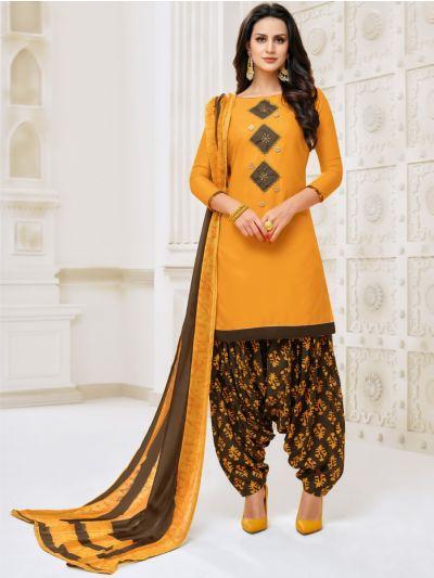 Isabella Women's Modal Print Dress Material - WDMS18002