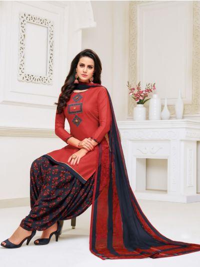 Isabella Women's Modal Print Dress Material