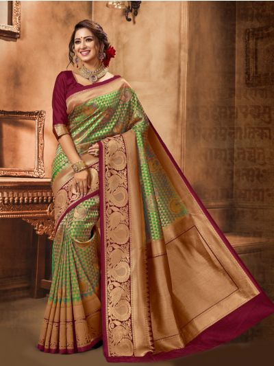 MID5183186-Kyathi Semi Banrasi Saree