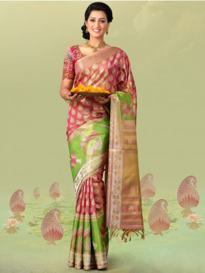 Vivaha Goddess Pure Silk Saree