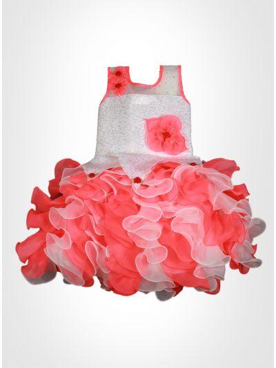 Pink Color Fancy Frock