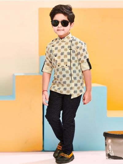 Boys Casual Shirts and Pant Set - BCS2119