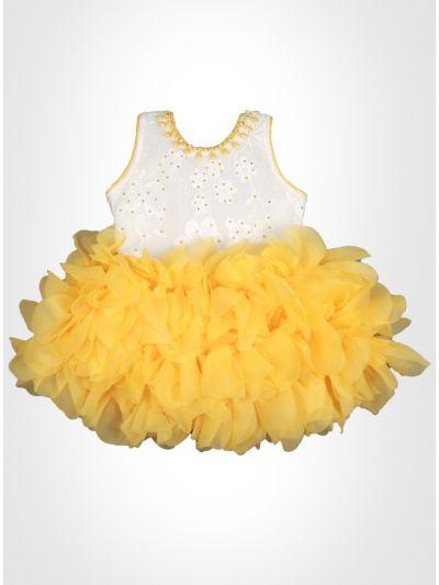 Yellow Fancy Frock