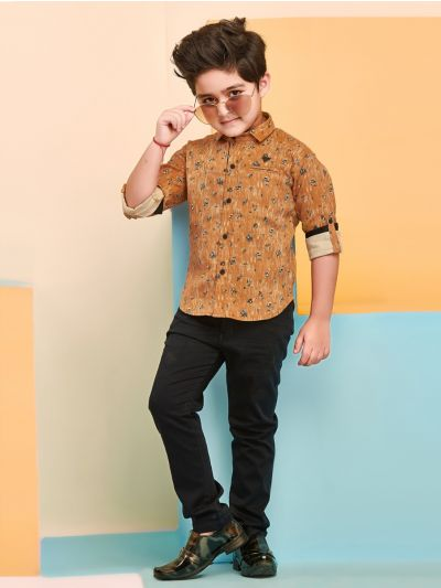 Boys Casual Shirts and Pant Set - BCS2138
