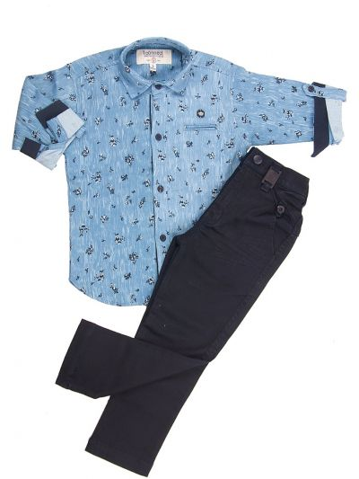Boys Casual Shirts and Pant Set - BCS2139