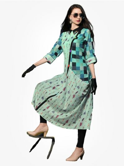 Women's Stylish Printed Designer Top - NTWT215