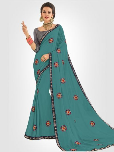 LFC5322733-Georgette Party Wear Saree
