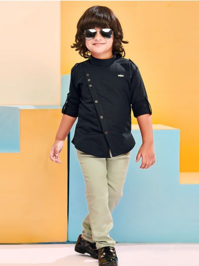Boys Casual Shirts and Pant Set - BCS2309