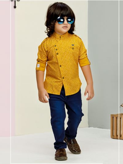 Boys Casual Shirts and Pant Set - BCS2136