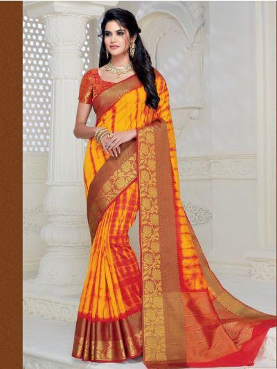 Kathana Fancy Raw Silk Saree