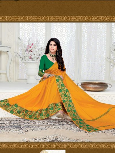 MED9187936-Kathana Fancy Raw Silk Saree