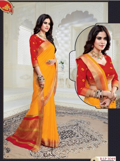 MED9187944 - Kathana Fancy Raw Silk Saree