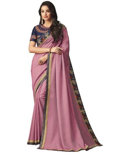 Elegance Party wear saree Violet - EPS3803