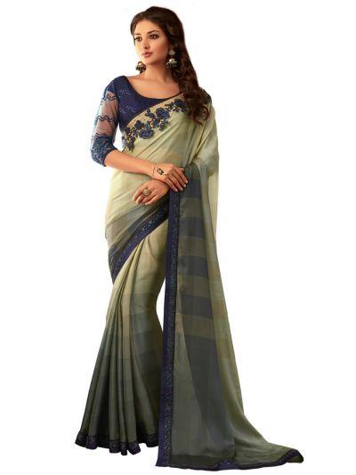 Kathana Exclusive Shimmer Chiffon Saree - SCS3901