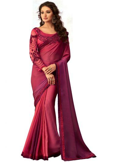 Kathana Exclusive Shimmer Chiffon Saree-SCS3904