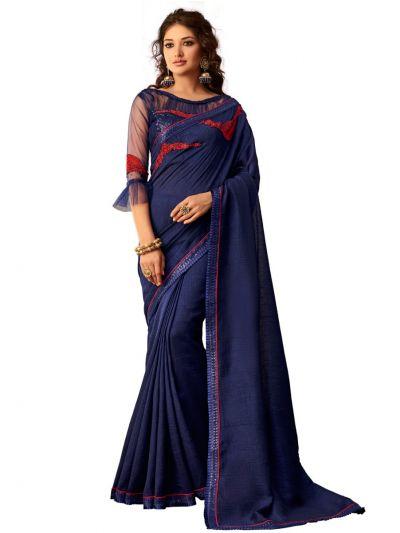 Kathana Exclusive Shimmer Chiffon Saree - SCS3915