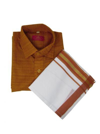MJA6615812 - MR HOOKS Boys Cotton Dhoti Set
