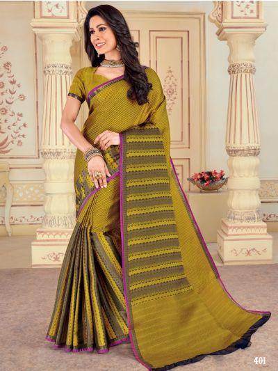 Kathana Fancy Weaving Raw Silk Saree