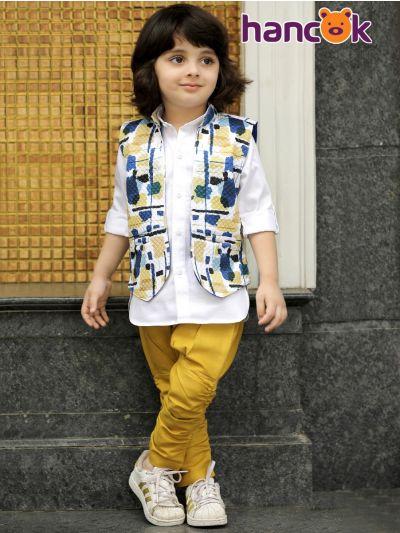 Hancok Boys Shirt And Pant Set - Size 4 Years