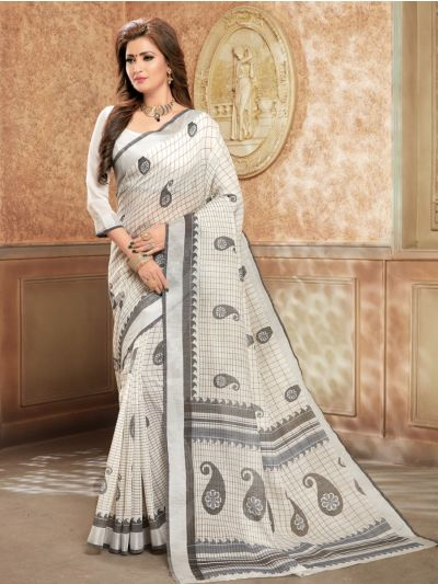Kathana Fancy Cotton Saree