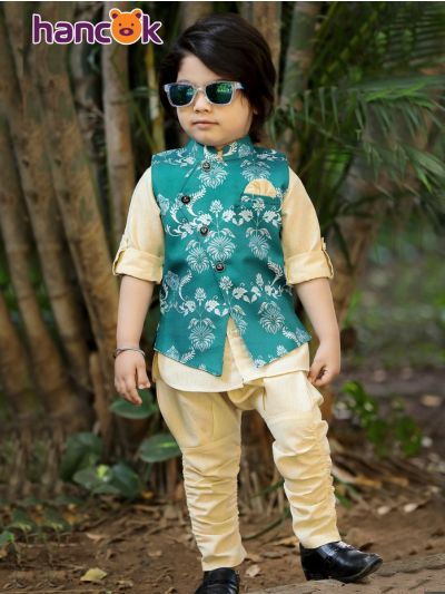 Hancok Boys Linen Shirt And Pant Set