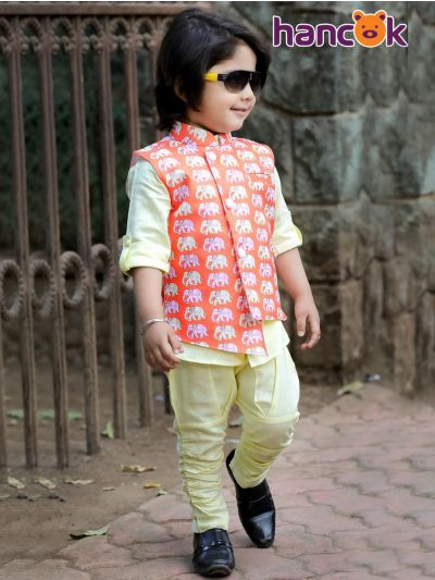 Hancok Boys Shirt And Pant Set - TUP4219-3 Years