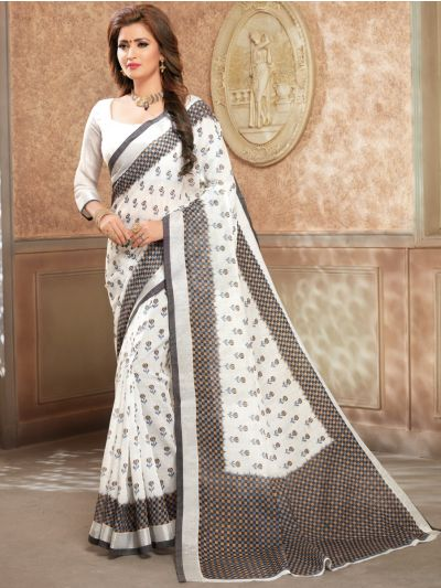 MED9186042-Kathana Fancy Cotton Saree