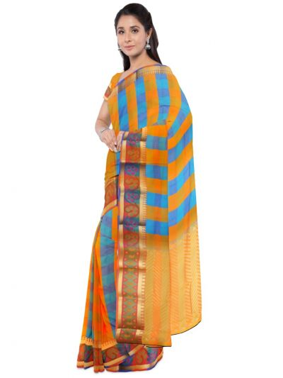 Fancy Art Silk Multi Saree