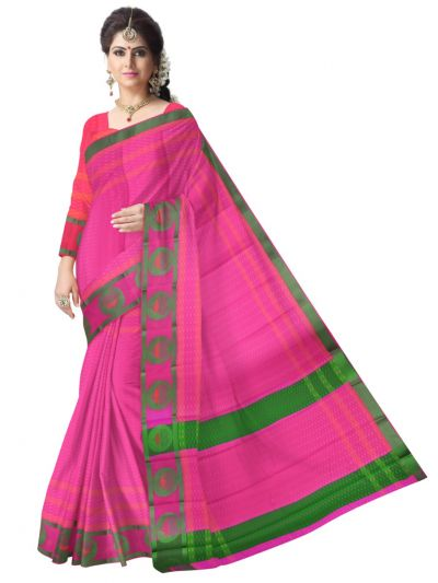 Fancy Art Silk Saree - FAS516