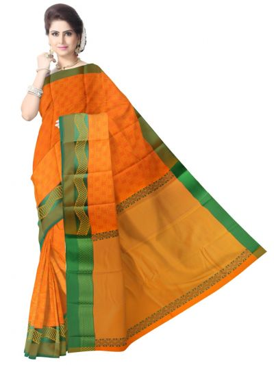 Fancy Art Silk Saree - FAS517