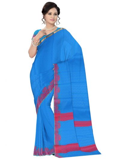 Fancy Art Silk Saree - FAS523
