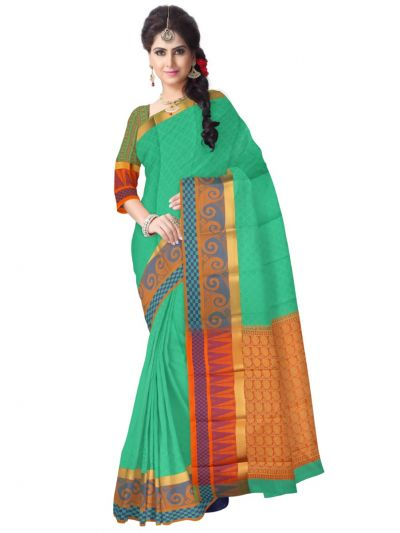 Fancy Art Silk Saree - FAS526