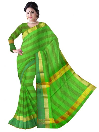 Fancy Art Silk Saree - FAS527