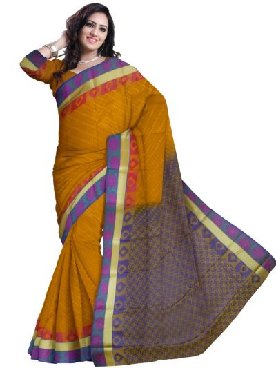 Fancy Art Silk Saree - FAS528