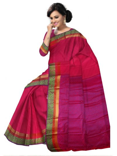 Fancy Art Silk Saree - FAS529