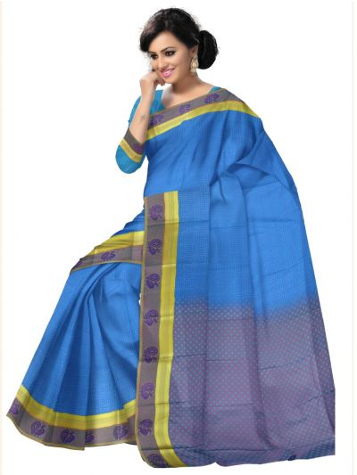 Fancy Art Silk Saree - FAS530