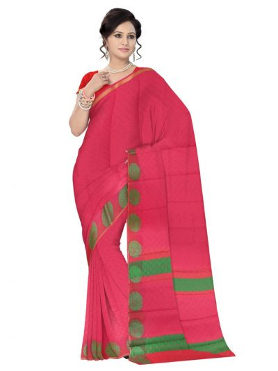 Fancy Art Silk Saree - FAS532