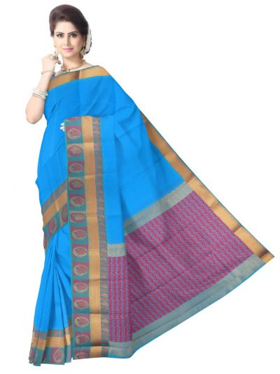 Fancy Art Silk Saree - FAS533