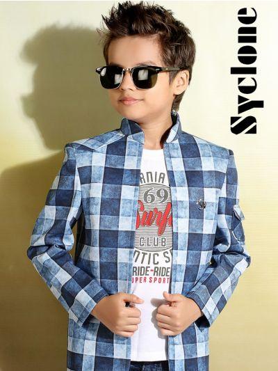 Syclone Boys Blazer With T-Shirt - TUP5828