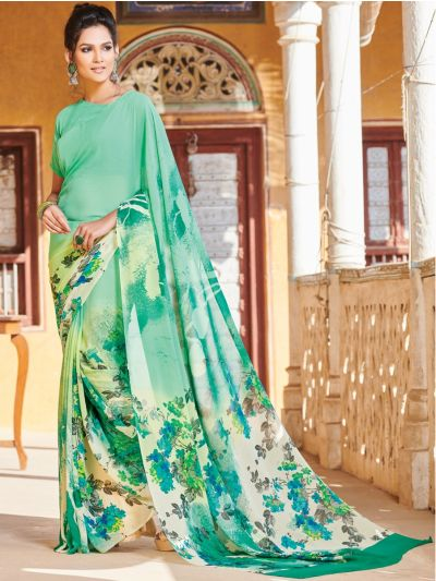 Kyathi Pure Georgette Printed Fancy Saree-MAE3892747