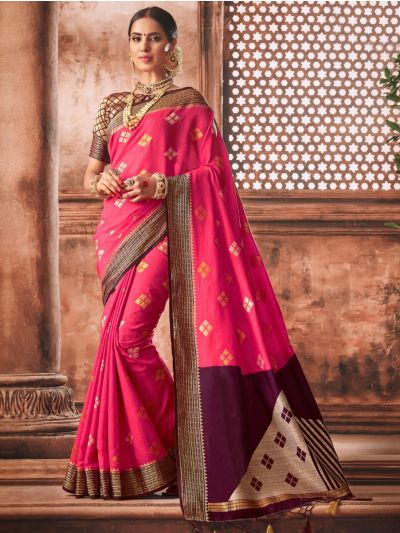 Kathana Exclusive Semi Jute Silk Saree - KSJS906