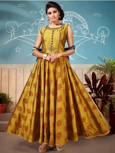 Khyathi Women's Exclusive Hand Work Readymade Salwar Kameez - SKAA05